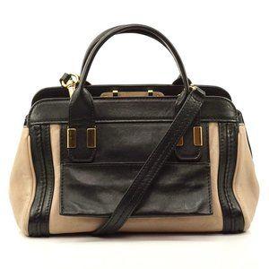 Auth Chloe Hand Bag Beige Leather #2071C74
